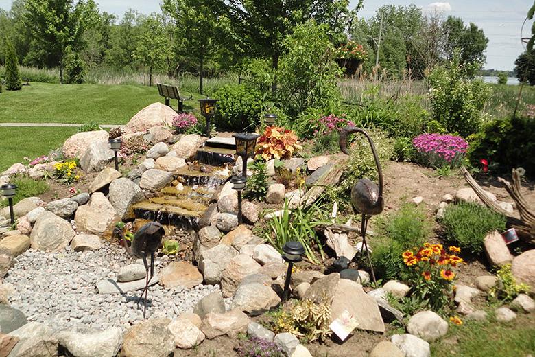 Beautiful Water Garden