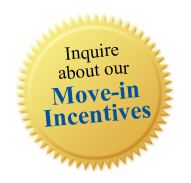 Inquire about our Move in Incentives