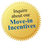 inquire about move-in incentives