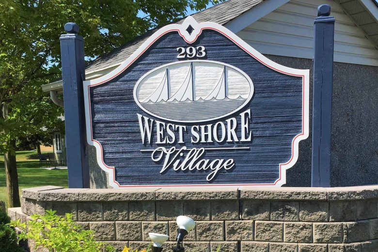 West Shore Sign