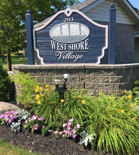 West Shore Sign